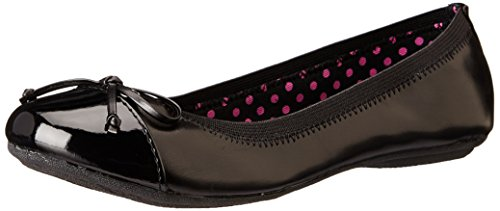 Sperry Elise Ballet Flat (Toddler/Little Kid/Big Kid),Black,2.5 M US Little Kid