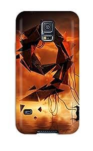 Fashionable Galaxy S5 Case Cover For Grim Reaper Dark Protective Case