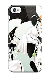 Shock-dirt Proof Love Bleach Inoue Orihime Barefoot Espada Embrace Lovers Holding Hands Kneeling Orangeulquiorra Cifer Hands On Face White Bat Case Cover For Iphone 6 plus 5.5