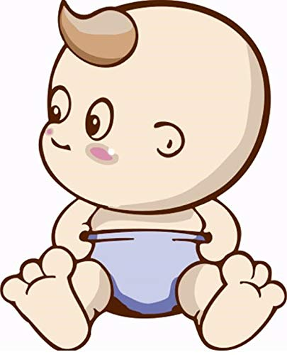 QJHXD Dibujos Animados Bebé Sin Marco Arte De La Familia ...