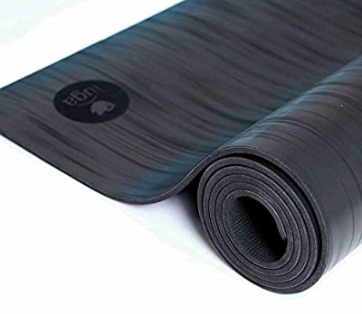 IUGA Pro Non Slip Yoga mat, Unbeatable Non Slip Performance, Eco Friendly and SGS Certified Material, Odorless Lightweight and Extra Large size, Free Carry Strap