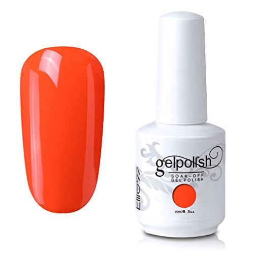 Elite99 Soak-Off UV LED Gel Polish Nail Art Manicure Lacquer Living Coral 682 15ml