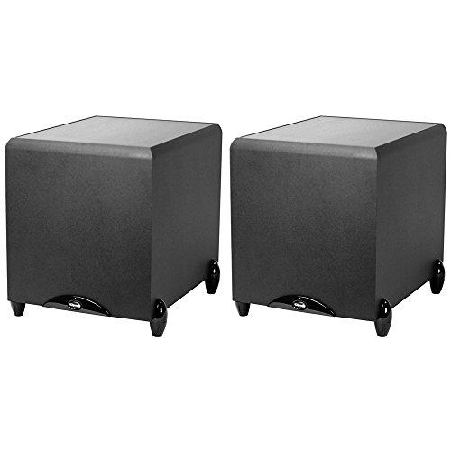 2-Pack of Klipsch Synergy Series 12-Inch 300-Watt Subwoofer w/ High Gloss Trim (Black) (Sub-12HG) (Klipsch Subwoofer Sub 12)
