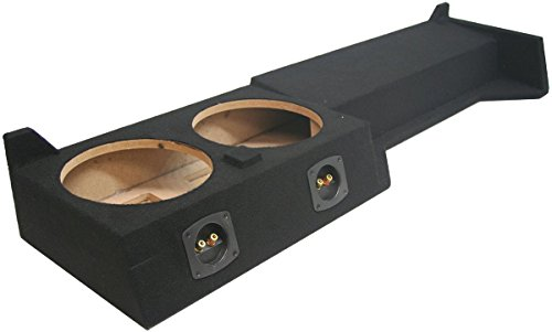 American Sound Connection N-FRONT-2X10-CREW 10-Inch 2X10 Dual Nissian Froniter Crew Cab 2005-2007 (Nissan Frontier Sub Enclosure)