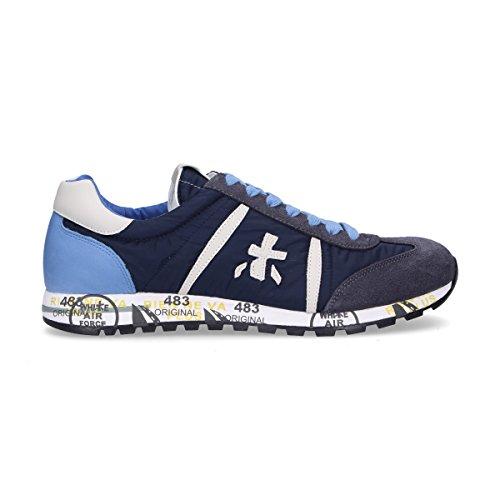 Uomo Camoscio Sneakers Blu Lucy1298e Premiata