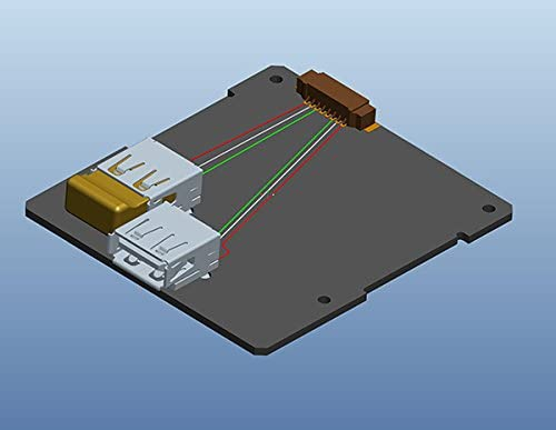 Intel NUC 7th Gen LID with Hidden Internal and External USB 2.0 Ports