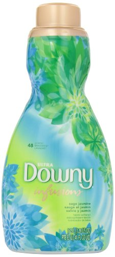 Downy Ultra Infusions Liquid Fabric Softener, Sage Jasmine, 41 Ounce by Downy