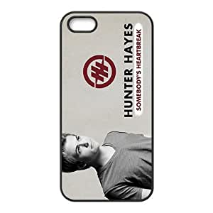 Happy Hunter Hayes Fashion Comstom Plastic case cover For Iphone 5s