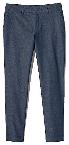 (GAP Womens Dark Blue Denim Slim City Crop Pants 2)