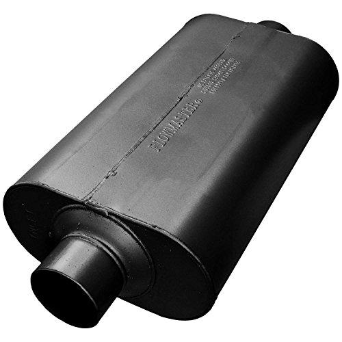 (Flowmaster 53055 Super 50 Muffler - 3.00 Center IN / 3.00 Center OUT - Moderate Sound)