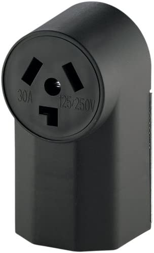 EATON WD125 Dryer Electrical Receptacle, V, 30 A, 3 Pole, 3 Wire