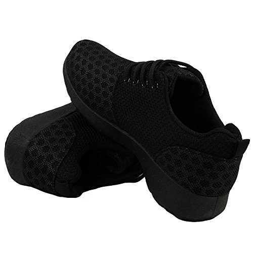 Ladies Running Trainers Womens Fitness Gym Sports Nike Juvenate Inspired Shoes 3-8 Black T0MmHFp