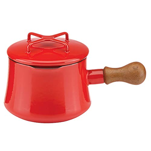 Red Cocoa (Dansk Kobenstyle Chili Red Cocoa Pot with Lid)