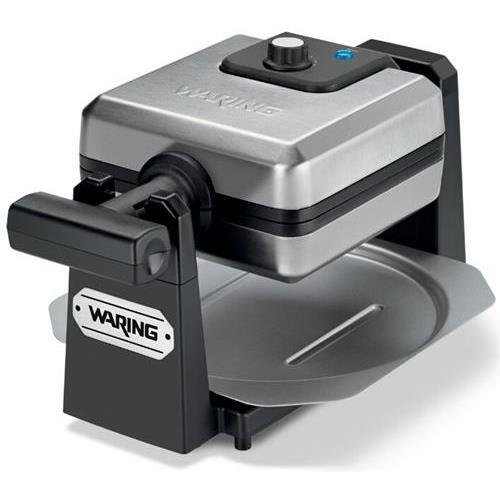 Waring WMK250SQ Pro New Belgian Waffle Maker - Stainless Steel & Black - Belgian Waffle - 4 x Square...