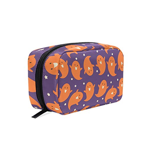 MALPLENA Halloween Ghost make up pouch for women Make Up Pouch