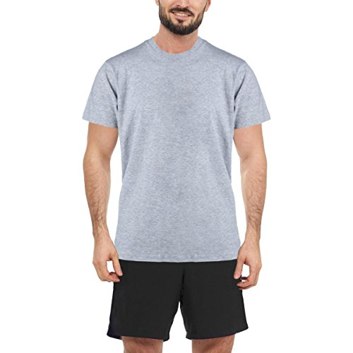 Rocawear Mens 3 Pack Crew Neck T-Shirt Gray ()