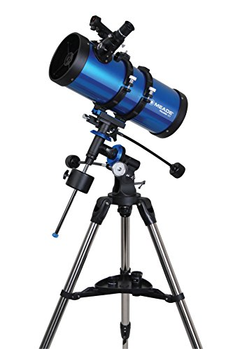 Meade Instruments 216005 Polaris 127 EQ Reflector Telescope (Blue)