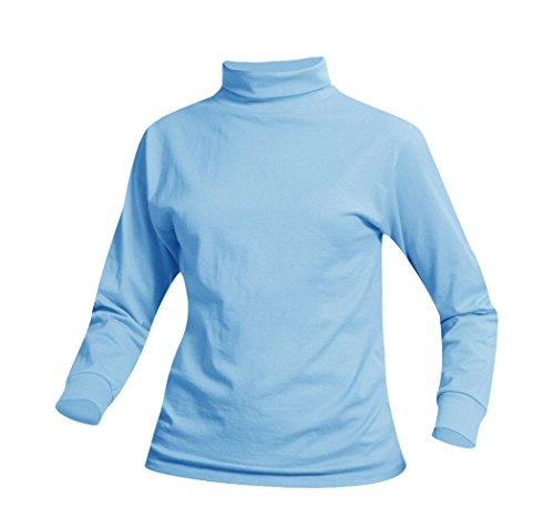 Averill's Sharper Uniforms Unisex Cotton Poly Jersey Knit Turtleneck Medium ()