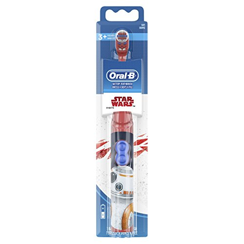 Oral B Kids Battery Powered Electric Toothbrush Featuring