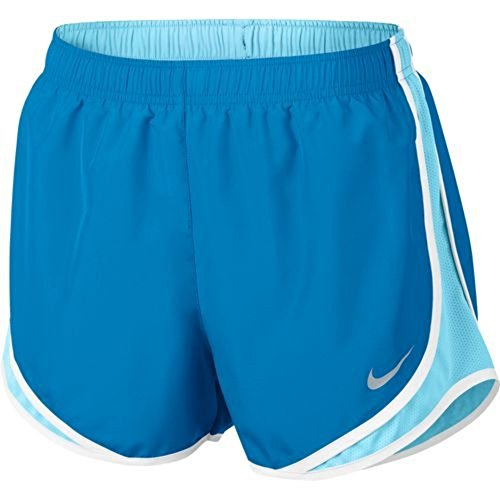 NIKE Womens Dry Tempo Running Short Light Photo, Blue, Size Medium (Department Shorts)