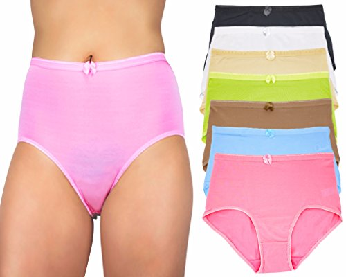 Love String Halter Bikini - Capricia O'dare Women's High Waist Tummy Control Briefs Panties (12 Pack, Size: 2XL)