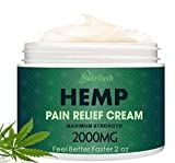 NUTRILUSH Hemp Pain Retamins and Nutrients - Effective Hemp Cream for Pain and Inflammation