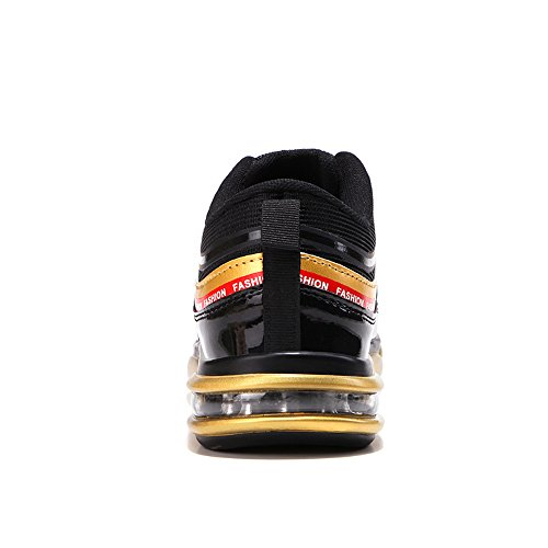 Breathable Energy Black Gold Sneaker da Cricket Lace da Scarpe Ginnastica Uomo da Up Afterburn Scarpe qwBnOIXp4x