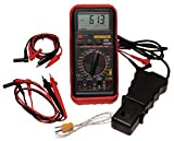 ATD Tools 5570 Deluxe Automotive Meter with RPM and Temperature Functions