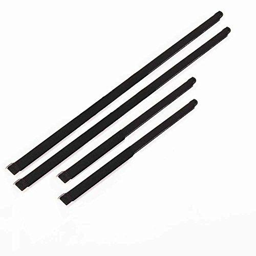 Motorstorex - Weatherstrip Assy Door Belt Rubber Front Door Outer & Inner Left & Right for Nissan Pathfinder R50 UTE