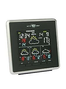 Technoline Wd 4026estación directamente estación meteorológica, schwarz-silber mit Batterien