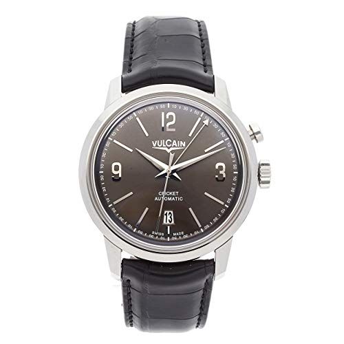 Vulcain 50s Presidents Mechanical (Automatic) Grey Dial Mens Watch 210150.278LF (Certified Pre-Owned)