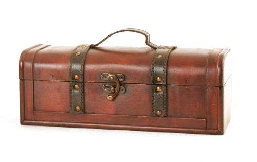 Wald Imports Brown Wood   Decorative Storage Trunk/Chest by Wald Imports