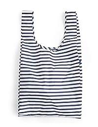 BAGGU - Bolsa de la compra reutilizable, Sailor Stripe (2018), Una talla
