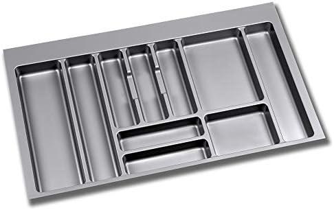 Cubertero Optima Emuca para cajón Vantage-Q para módulo 900 x 500 mm de espesor