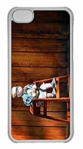 iPhone 5C Case, Personalized Custom The Scientist for iPhone 5C PC Clear Case