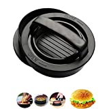 housewearall 3 in 1 Burger Press Patty Maker-Hamburger Patty Maker for Grilling - BBQ Grill Accessories-Burger Press Cast Iron