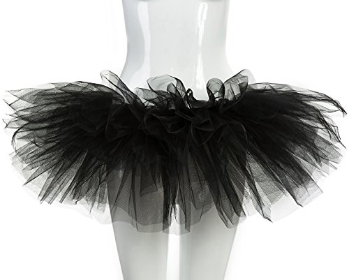 belababy Womens Tutu Costume Black for Halloween - Tutu Halloween Costumes For Women