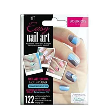 Buy bourjois easy nail art kit online at low prices in india bourjois easy nail art kit prinsesfo Image collections