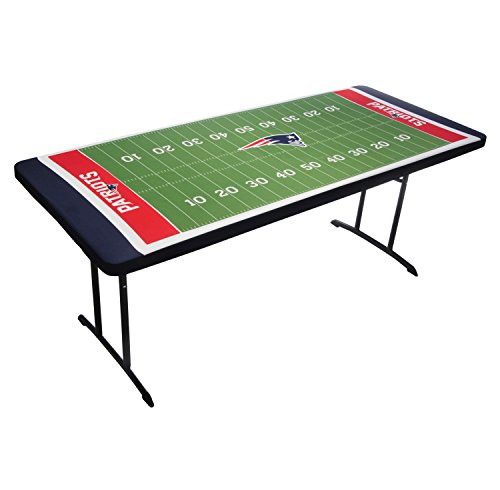 New Tablecloth - UPI Marketing NFL New England Patriots Table Top Tablecloth, Green