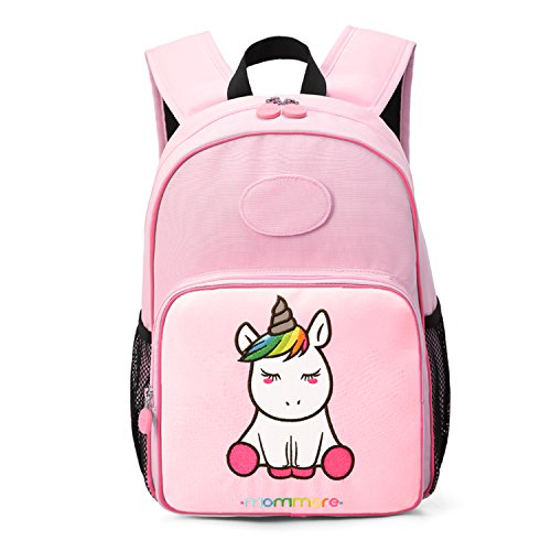 mommore Cute Unicorn Kids Backpack Preschool Toddler Backpack for 3-7 Years  Old Boys and Girls with DIY Tag Pink - Buy Online in Oman. f42dd2647e2d5