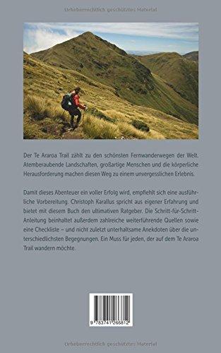 Te Araroa Trail: Planung Und Vorbereitung Des Abenteuers Deines Lebens:  Amazon.de: Christoph Karallus: Bücher