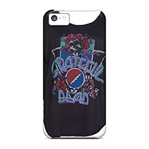 Great Cell-phone Hard Cover For Iphone 5c (RvK17284HarC) Provide Private Custom Vivid Grateful Dead Series