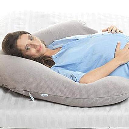 Amazon.com: YJWOZ - Almohada en forma de U para embarazadas ...