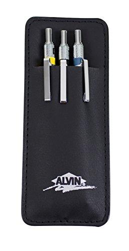 Alvin DM357C DraftMatic Mechanical Pencils, Set of 3, DM03 DM05 DM07