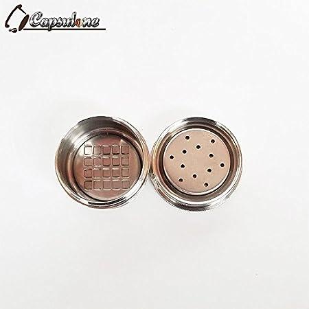 capsulone (tapa de metal de acero inoxidable cápsula y) Compatible con Máquina de café illy caspule eléctrica uso 10 años: Amazon.es: Hogar