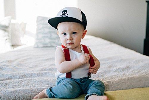 e55cfceae37 Born To Love Baby Boy Infant Trucker Hat Snap Back Sun Mesh Baseball ...