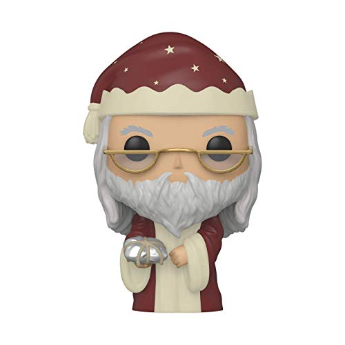 Funko- Pop Harry Potter Holiday-Albus Dumbledore S11 Figura Coleccionable, Multicolor (511