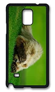 MOKSHOP Adorable Bear Cant Watch this Hard Case Protective Shell Cell Phone Cover For Samsung Galaxy Note 4 - PCB