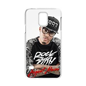 Snap-on Hip-Hop Singer August Alsina Cool Man Design TPU Durable Back Case Phone Shell for Samsung Galaxy S5 Laser case-1