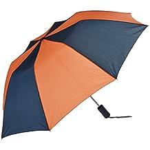 Rainkist 43 Inch Auto Open, Navy/Orange, One Size